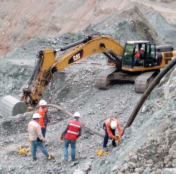 el volcan mining